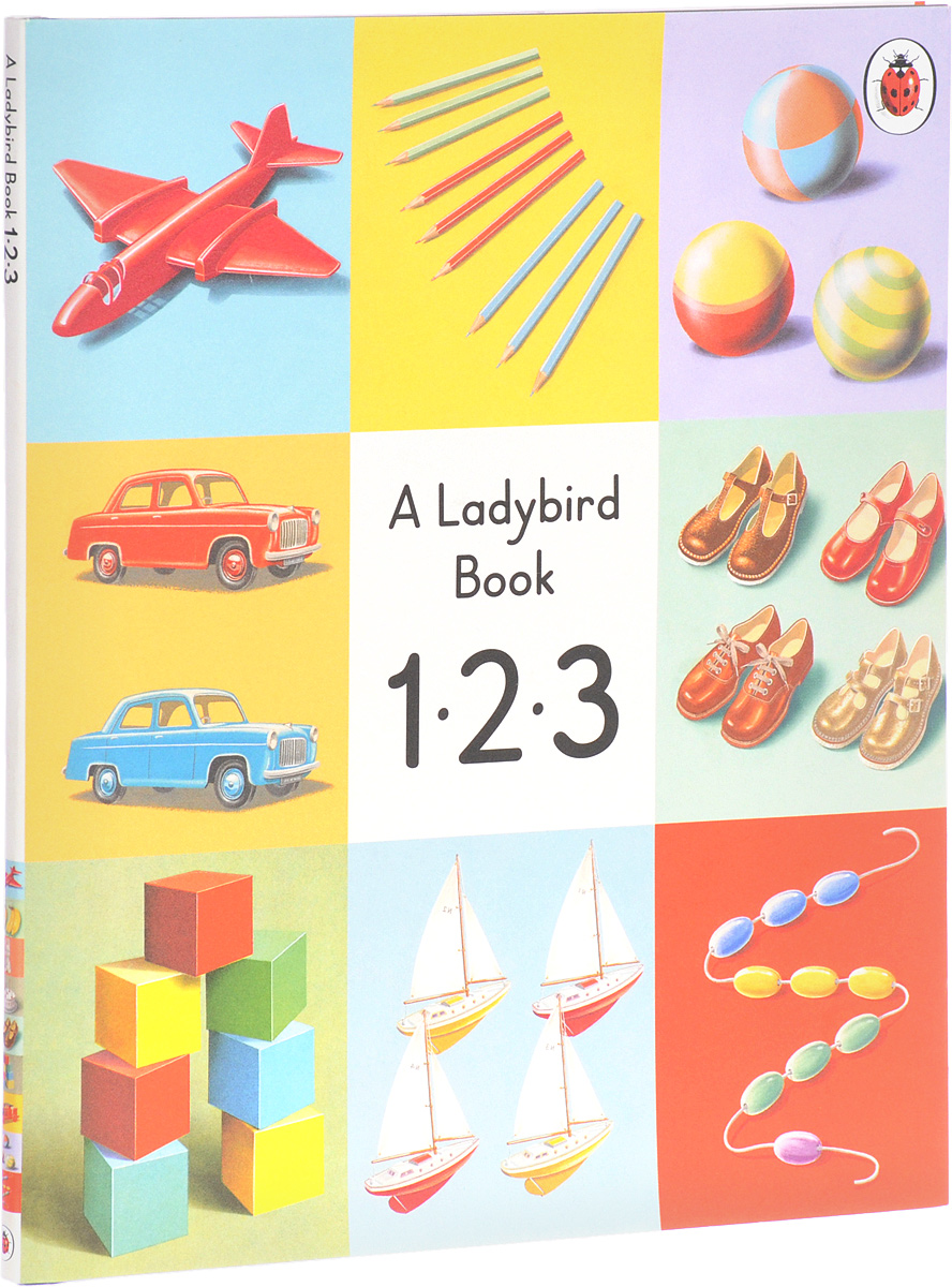 Ladybird Book: 1 2 3 greenwell j first numbers sticker book