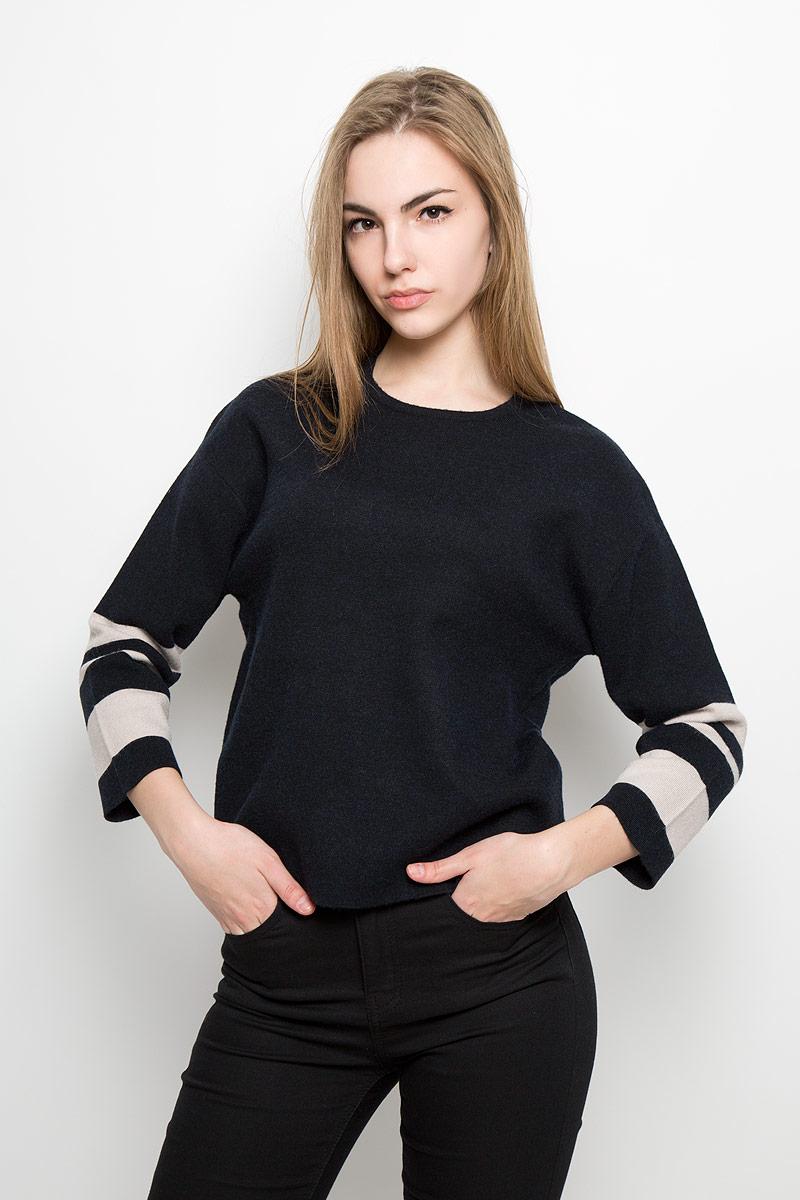 Джемпер женский Broadway Vlada, цвет: черный. 10156949_999. Размер L (48) джемпер broadway broadway br004ewccow6