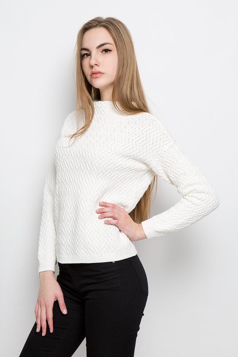 Джемпер женский Broadway Telma, цвет: молочный. 10156944_001. Размер M (46) пуловеры broadway пуловер