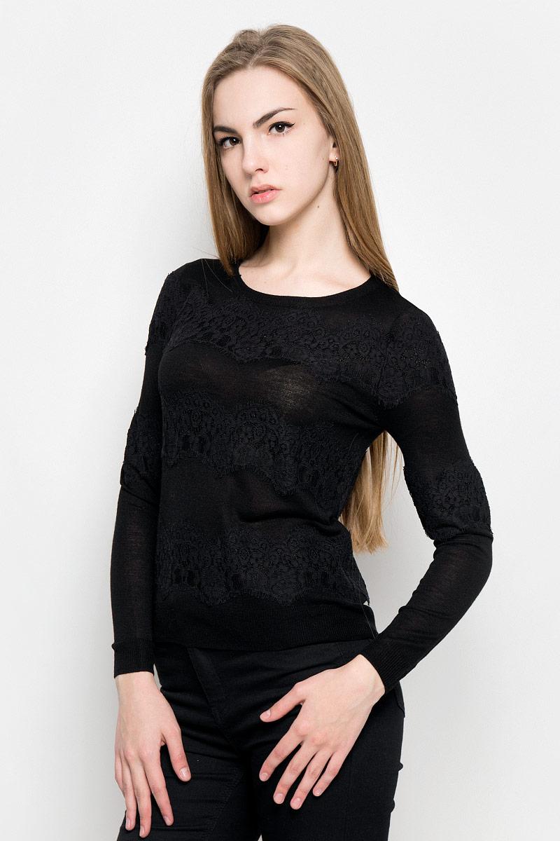 Джемпер женский Broadway Vivienne, цвет: черный. 10156938_999. Размер S (44) джемпер broadway broadway br004ewccow6