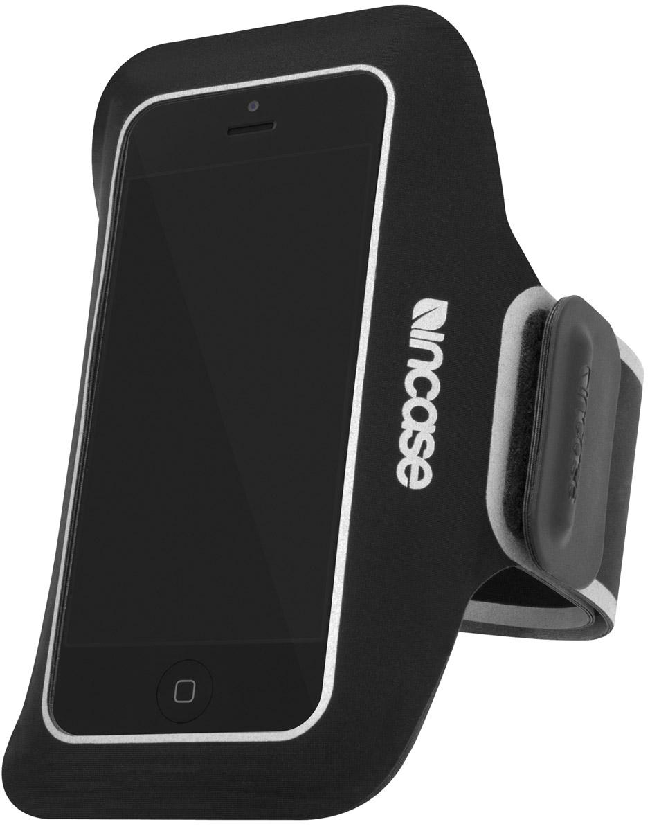 Incase Sports Armband Pro чехол для Apple iPhone 5/5s/SE, Black Silver