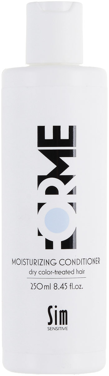 SIM SENSITIVE Увлажняющий бальзам для волос FORME Moisturizing Conditioner, 250мл бальзамы sim sensitive бальзам для волос forme 250мл