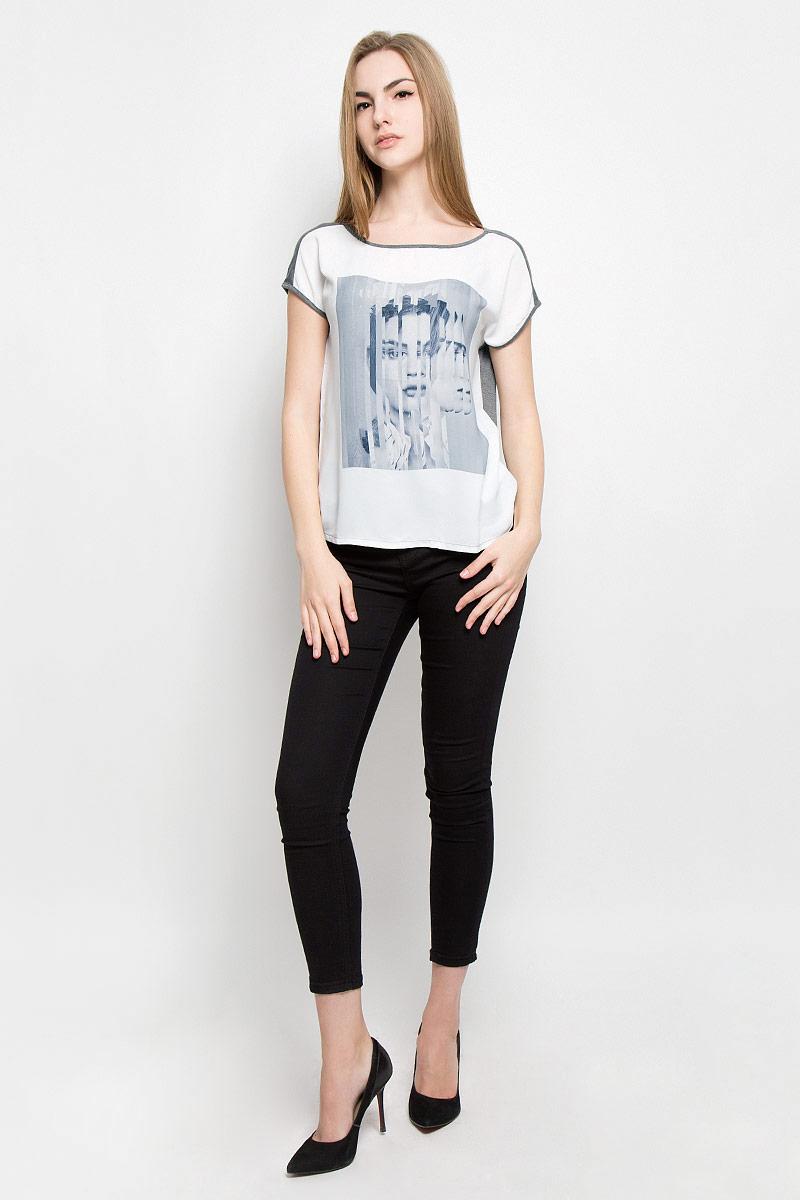 Футболка женская Broadway Rory, цвет: серый, белый. 10156891_83A. Размер M (46) rory dobner гаджет