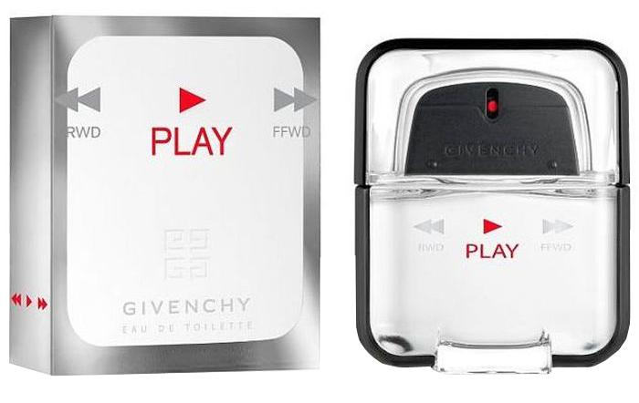 Givenchy Play man Туалетная вода мужская, 50 мл givenchy gi007dmnnx80 givenchy