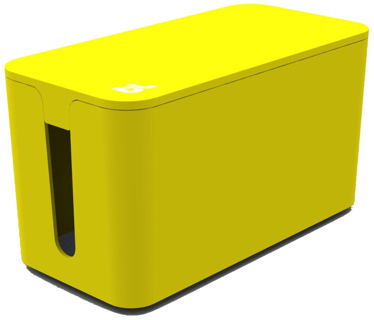 Bluelounge CableBox Mini, Yellow бокс для хранения проводов и сетевого фильтра aaden aa bluelounge