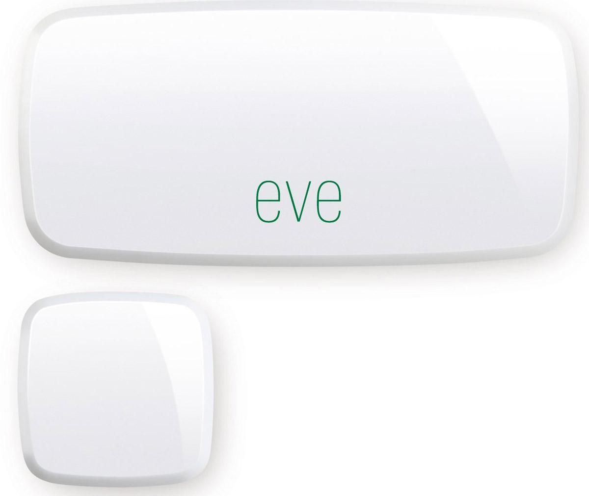 Elgato Eve Door & Window умный датчик охранных систем и сигнализаций1ED109901000Датчик Elgato Eve Door & Window может определить, когда дверь или окно открыты, и сообщить вам об этом в бесплатном приложении на iPhone или iPad. Вы можете мгновенно узнать о состоянии дверей и окон, а также просмотреть подробную статистику времени и длительности.Eve задействует передовую технологию Apple HomeKit и предлагает непревзойдённое удобство и надёжную защиту. Датчик Eve Door & Window подключается напрямую к iPhone или iPad по технологии Bluetooth Smart и не требует концентраторов, шлюзов или мостов.Датчик определяет, когда дверь или окно в вашем доме открытыПросматривайте подробную статистику времени и длительностиПоддержка HomeKitРаботает от долговечной сменной батарейки, кабель питания не требуетсяПодключается напрямую по технологии Bluetooth Smart, без концентраторов и шлюзов