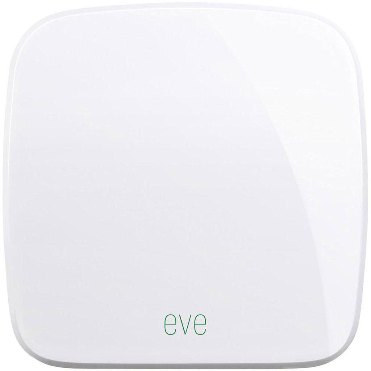 Elgato Eve Room беспроводной датчик1ER109901000Беспроводной датчик Elgato Eve Room определяет качество воздуха, температуру и влажность в доме и выводит полученные данные на экран вашего iPhone или iPad с помощью бесплатного приложения. Эта информация, полученная путём анализа летучих органических соединений, поможет вам создать для себя более комфортные условия.Elgato Eve Room задействует передовую технологию Apple HomeKit и предлагает непревзойдённое удобство, надёжную защиту и полную интеграцию с Siri. Датчик работает от долговечных сменных батареек, так что вам не придётся возиться со шнурами питания.Передовая технология анализа летучих органических соединений поможет вам повысить свой комфорт.Поддержка HomeKit обеспечивает непревзойдённое удобство и усовершенствованную защитуСовместная работа с Siri. Просто спросите, какая в доме температура и влажностьРаботает от долговечных сменных батареек, кабель питания не требуетсяПростое прямое подключение с использованием технологии Bluetooth 4.0 SmartПоддержка ОС: iOS 10.2 и выше