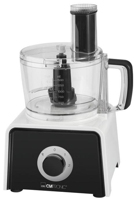 Clatronic KM 3645, White кухонный комбайнKM 3645 weissКухонный комбайн Clatronic KM 3645 - это многофункциональный бытовой прибор с множеством различных насадок и режимов. Данная модель изготовлена из качественных материалов. Объем рабочей чаши и кувшина блендера составляет 1,5 литра. Прибор имеет импульсный режим и 3 скорости работы.