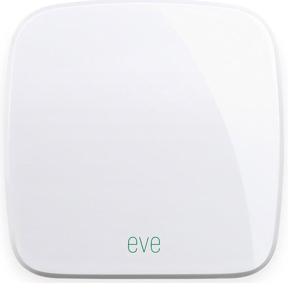 Elgato Eve Weather беспроводной датчик1EW109901000Elgato Eve Weather определяет температуру, влажность и атмосферное давление в непосредственной близости от вашего дома и выводит данные о погодных условиях на экран вашего iPhone или iPad с помощью бесплатного приложения.Используя преимущества революционной технологии HomeKit Apple, Eve обеспечивает непревзойдённое удобство, усовершенствованную защиту и тесную интеграцию с Siri. Датчик Eve Weather работает от долговечных сменных батареек, так что вам не придётся возиться со шнурами питания.Индивидуальные данные о погоде позволят вам повысить комфорт в домеИзучайте данные о погоде в вашем месте за день, месяц или годПростое прямое подключение с использованием технологии Bluetooth 4.0 SmartПоддержка ОС: iOS 10.2 и вышеЗащита IPX3