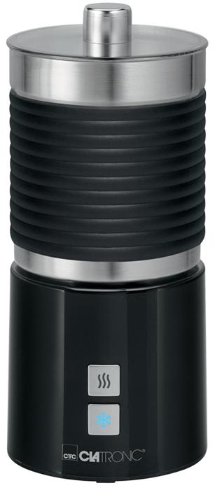 Clatronic MS 3654, Black пеновзбивательMS 3654 soft touch schwarzВспениватель молока Clatronic MS 3654 помогает создать идеальный вкус напитков с молочной пеной - кофе, горячийшоколад или какао. Вспенивает молоко за считанные секунды. Для того чтобы приготовить идеальную пенку дляКапучино или Латте, молоко не нужно предварительно подогревать. Прибор имеет 3 режима работы: вспениваниехолодного молока, вспенивание горячего молока и подогрев.Вспененный объем молока: приблизительно 500 мл Поворот на 360° Насадка для приготовления горячих напитков без вспенивания (например, какао)