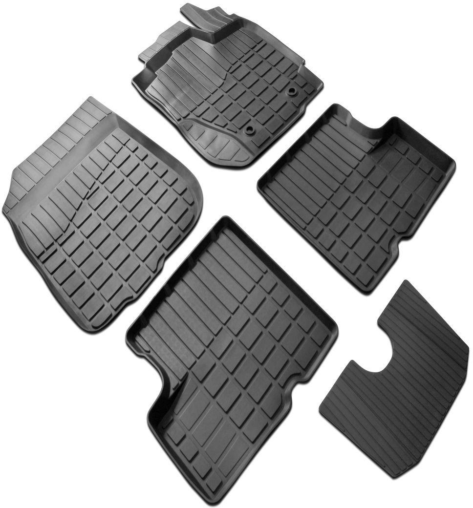 Коврики салона Rival литьевые для Renault Sandero 2014-/Renault Sandero Stepway 2014-, резина64703001Современная версия ковриков Rival для автомобилей, изготовлены из высококачественного и экологичного сырья с использованием технологии высокоточного литья под давлением, полностью повторяют геометрию салона вашего автомобиля. - Усиленная зона подпятника под педалями защищает наиболее подверженную истиранию область.- Надежная система крепления, позволяющая закрепить коврик на штатные элементы фиксации, в результате чего отсутствует эффект скольжения по салону автомобиля.- Высокая стойкость поверхности к стиранию.- Специализированный рисунок и высокий борт, препятствующие распространению грязи и жидкости по поверхности коврика.- Перемычка задних ковриков в комплекте предотвращает загрязнение тоннеля карданного вала.- Коврики произведены из первичных материалов, в результате чего отсутствует неприятный запах в салоне автомобиля.- Высокая эластичность, можно беспрепятственно эксплуатировать при температуре от -45°C до +45°C. Уважаемые клиенты! Обращаем ваше внимание, что коврики имеют форму, соответствующую модели данного автомобиля. Фото служит для визуального восприятия товара.