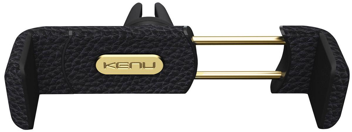 Kenu AF3-KK-NA Airframe + Portable Car Mount Leather Edition, Black автомобильный держатель для устройств диагональю до 6
