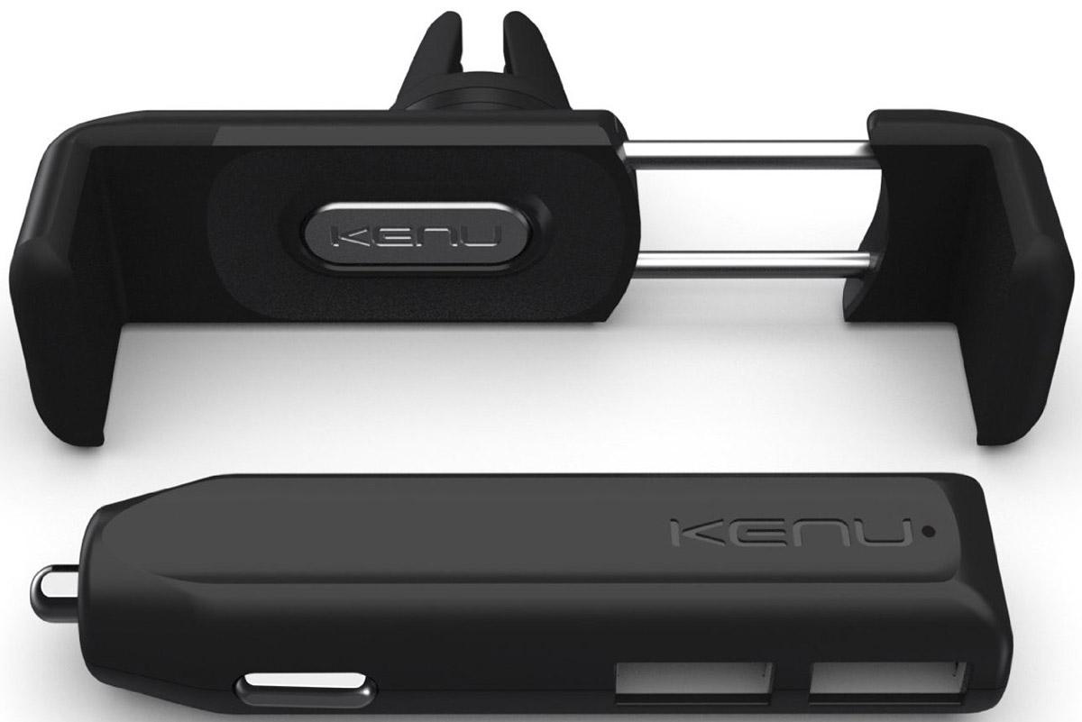 Kenu CK1-KK-NA Airframe+ Car Kit автомобильное зарядное устройство с креплением аксессуар для gsm airframe af1 kk ap
