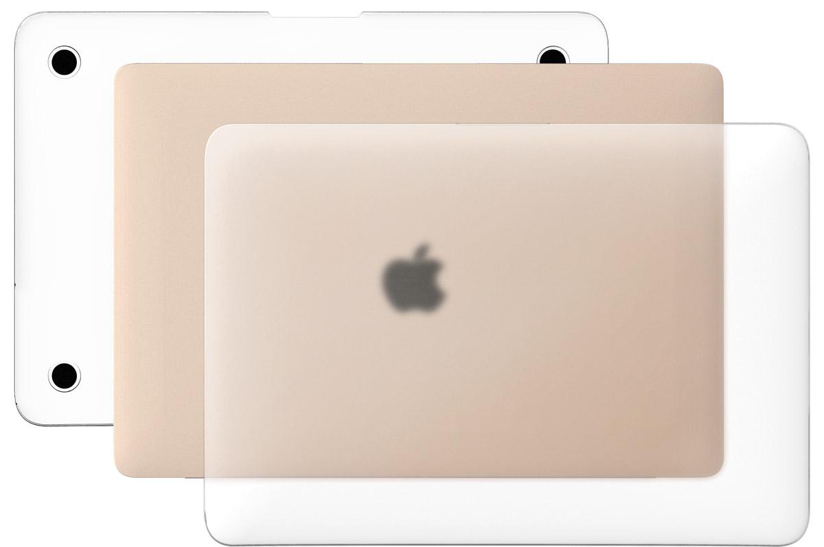 LAB.C Hard Case чехол для Apple MacBook 12, Matt ClearLABC-446