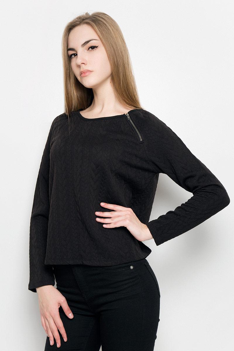 Купить Свитшот женский Broadway Tora, цвет: черный. 10157010_999. Размер XS (42)