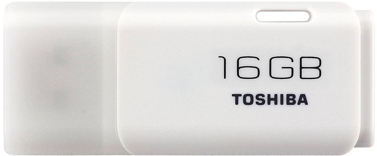 Toshiba U202 16GB, White флеш-накопитель - Носители информации