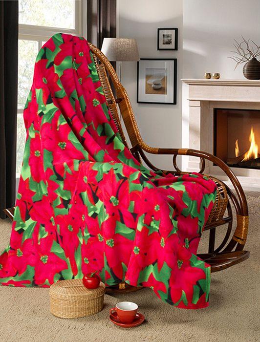 """Мягкое покрывало """"Guten Morgen"""", изготовленное из флиса (100% полиэстера), может стать не только красивым и практичным аксессуаром для интерьера вашей спальни, но и олицетворением уюта и теплоты вашего дома.Как приятно завернуться в теплое покрывало с чашечкой ароматного чая и скоротать за хорошей книгой долгий зимний вечер."""