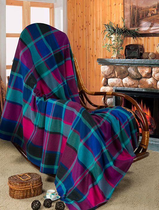 """Мягкое покрывало """"Guten Morgen"""", изготовленное из флиса (100% полиэстера), может стать не только красивым и  практичным аксессуаром для интерьера вашей спальни, но и олицетворением  уюта и теплоты вашего дома. Как приятно завернуться в теплое покрывало с  чашечкой ароматного чая и скоротать за хорошей книгой долгий зимний вечер."""