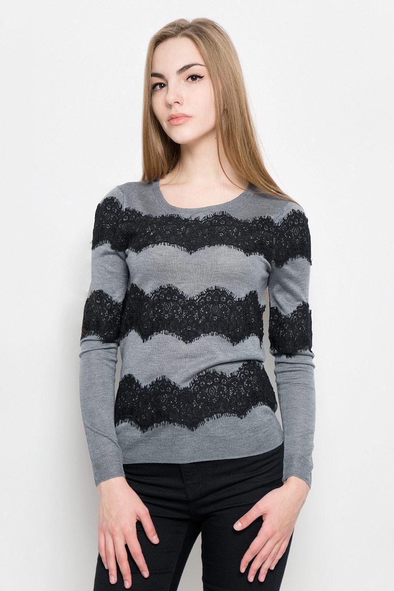 Джемпер женский Broadway Vivienne, цвет: серый. 10156938_833. Размер M (46) джемпер broadway broadway br004emccoo5