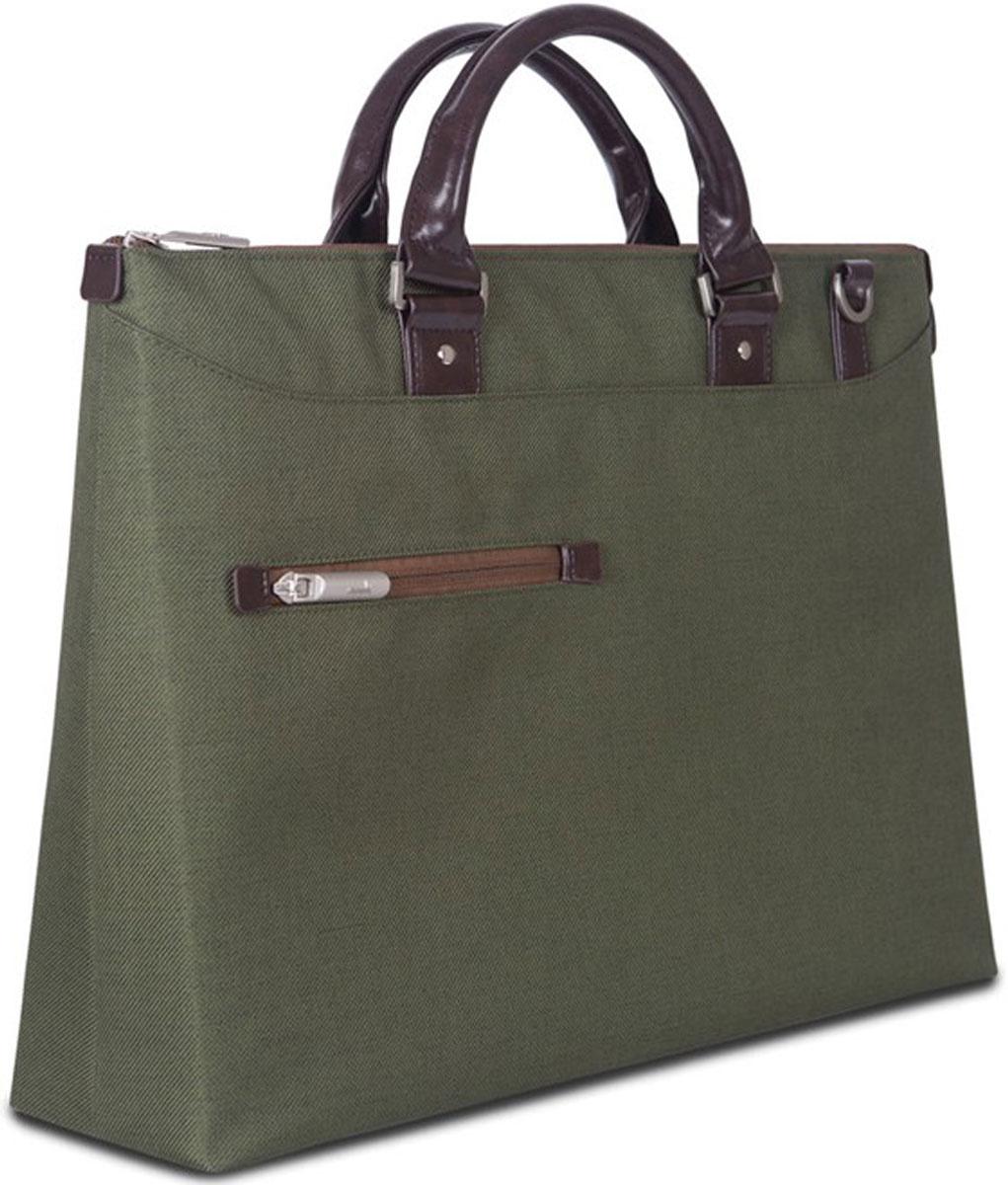 Moshi Urbana Slim, Green сумка для ноутбука 1599MO078631