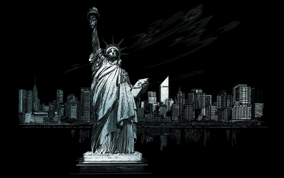 Royal & Langnickel Гравюра Статуя Свободы