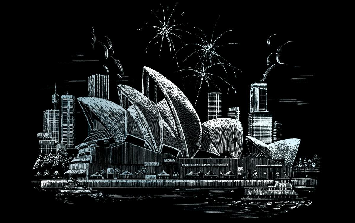 Royal & Langnickel Гравюра Опера Сидней