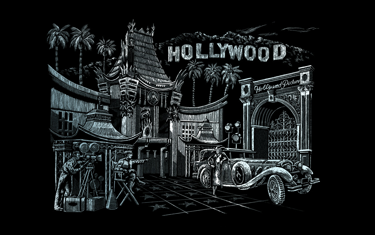 Royal & Langnickel Гравюра Голливуд