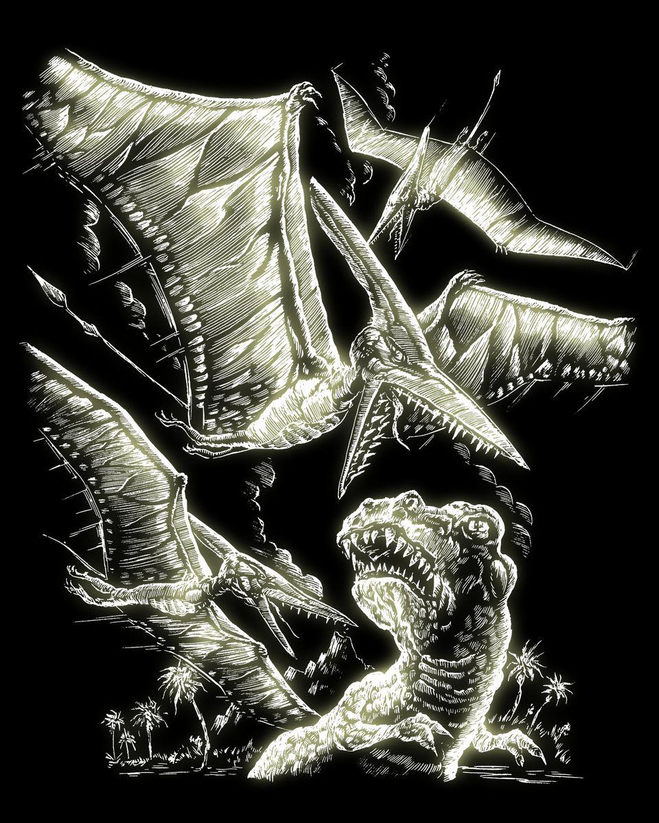 Royal & Langnickel Гравюра с флуоресцентным эффектом Птеродактиль