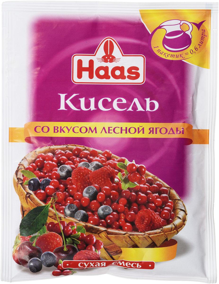 Haas кисель Лесная ягода, 75 г с пудовъ кисель молочный ванильный 40 г