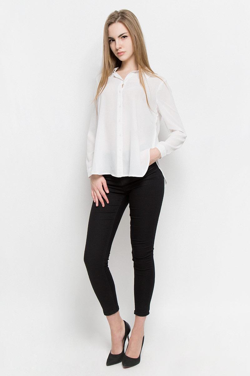 Блузка женская Broadway Shala, цвет: белый. 10156770_001. Размер L (48) блузка женская broadway reyleigh цвет темно синий 10156643 541 размер l 48
