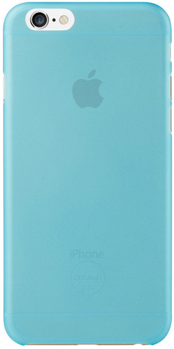 Ozaki O!coat 0.3 Jelly Case чехол для iPhone 6, Blue