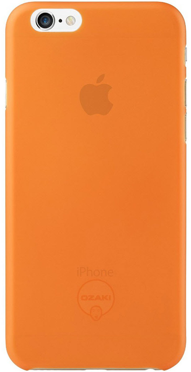 Ozaki O!coat 0.3 Jelly Case чехол для iPhone 6, Orange