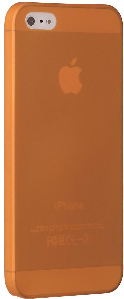 Ozaki O!coat 0.3 Jelly чехол для Apple iPhone 5/5s, Orange чехол для apple ipad mini retina ozaki o coat oc114wh белый