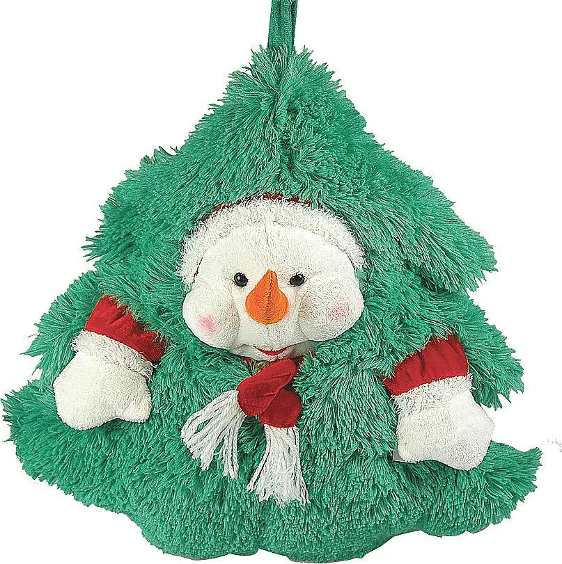 Мешок для подарков Mister Christmas Снеговик, высота 35 смVS-01 3GПредновогодние дни зачастую заняты суетой и поиском подарков и их упаковки. Для необычного оформления сувениров и презентов подойдет новогодний мешок для подарков Mister Christmas Снеговик. Он выполнен из пушистой ткани, очень приятной на ощупь. Мешочек представлен в виде елки. Ворс ткани полностью имитирует зеленые иголки живой елочки. Дополнен мешок объемным изображением Снеговика. Собираясь в гости, в этот мешок вы можете уложить все новогодние подарки или положить каждый сувенир в отдельный мешок. Он прекрасно скроет подарок от любопытных глаз и придаст презенту частичку таинственности. Высота мешка: 35 см.