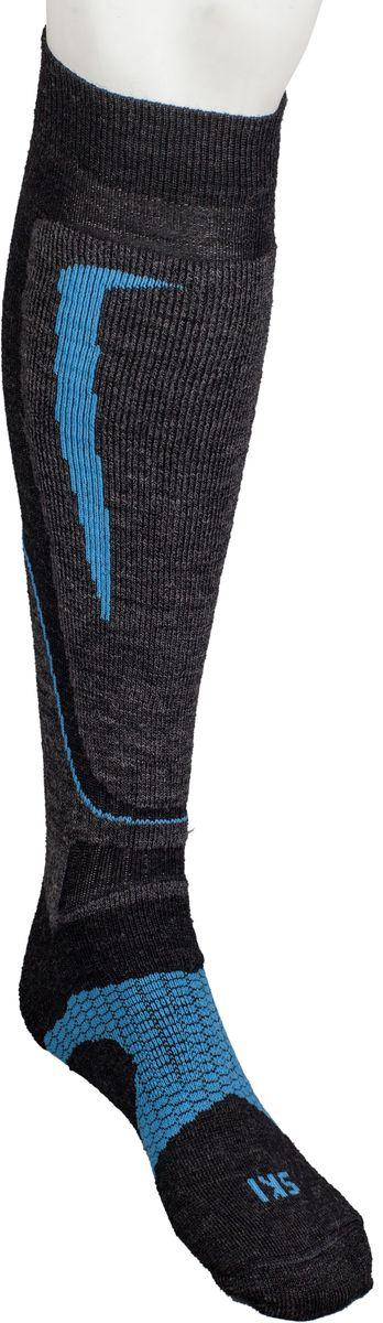Носки горнолыжные Mico, цвет: серый, синий. 231_033. Размер S (35/37)231_033Итальянская компания Mico - один из ведущих производителей носков и термобелья на Европейском рынке для занятий спортом. Носки предназначены для занятий различными видами спорта, в том числе для носки в городе в очень холодную погоду. Двойная структура плетения из шерсти. Дополнительная защита голени. Дополнительные эластичные вставки в области голеностопа и стопы. Мягкая резинка по верху носка не сжимает ногу и не дает ощущения сдавливания даже при длительном использовании. Бесшовная конструкция исключает натирание во время занятий спортом. Специальное плетение в области стопы фиксирует ногу при занятиях спортом и ходьбе и не дает скользить стопе вперед.