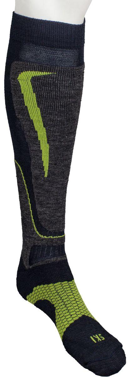 Носки горнолыжные Mico, цвет: синий, зеленый. 231_002. Размер S (35/37)231_002Итальянская компания Mico - один из ведущих производителей носков и термобелья на Европейском рынке для занятий спортом. Носки предназначены для занятий различными видами спорта, в том числе для носки в городе в очень холодную погоду. Двойная структура плетения из шерсти. Дополнительная защита голени. Дополнительные эластичные вставки в области голеностопа и стопы. Мягкая резинка по верху носка не сжимает ногу и не дает ощущения сдавливания даже при длительном использовании. Бесшовная конструкция исключает натирание во время занятий спортом. Специальное плетение в области стопы фиксирует ногу при занятиях спортом и ходьбе и не дает скользить стопе вперед.