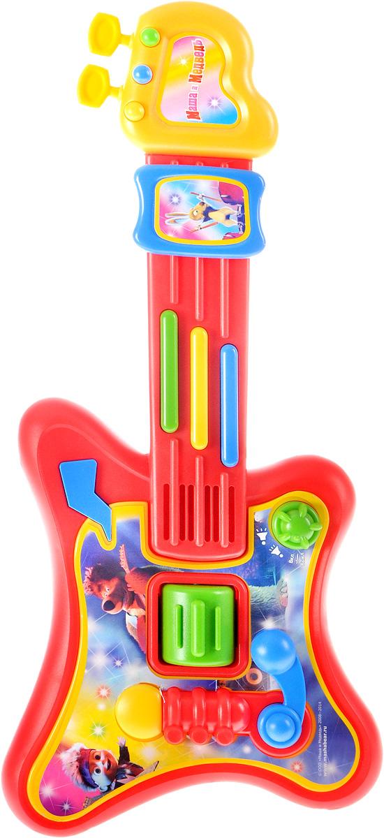 Играем вместе Электрогитара Маша и Медведь - Музыкальные инструменты