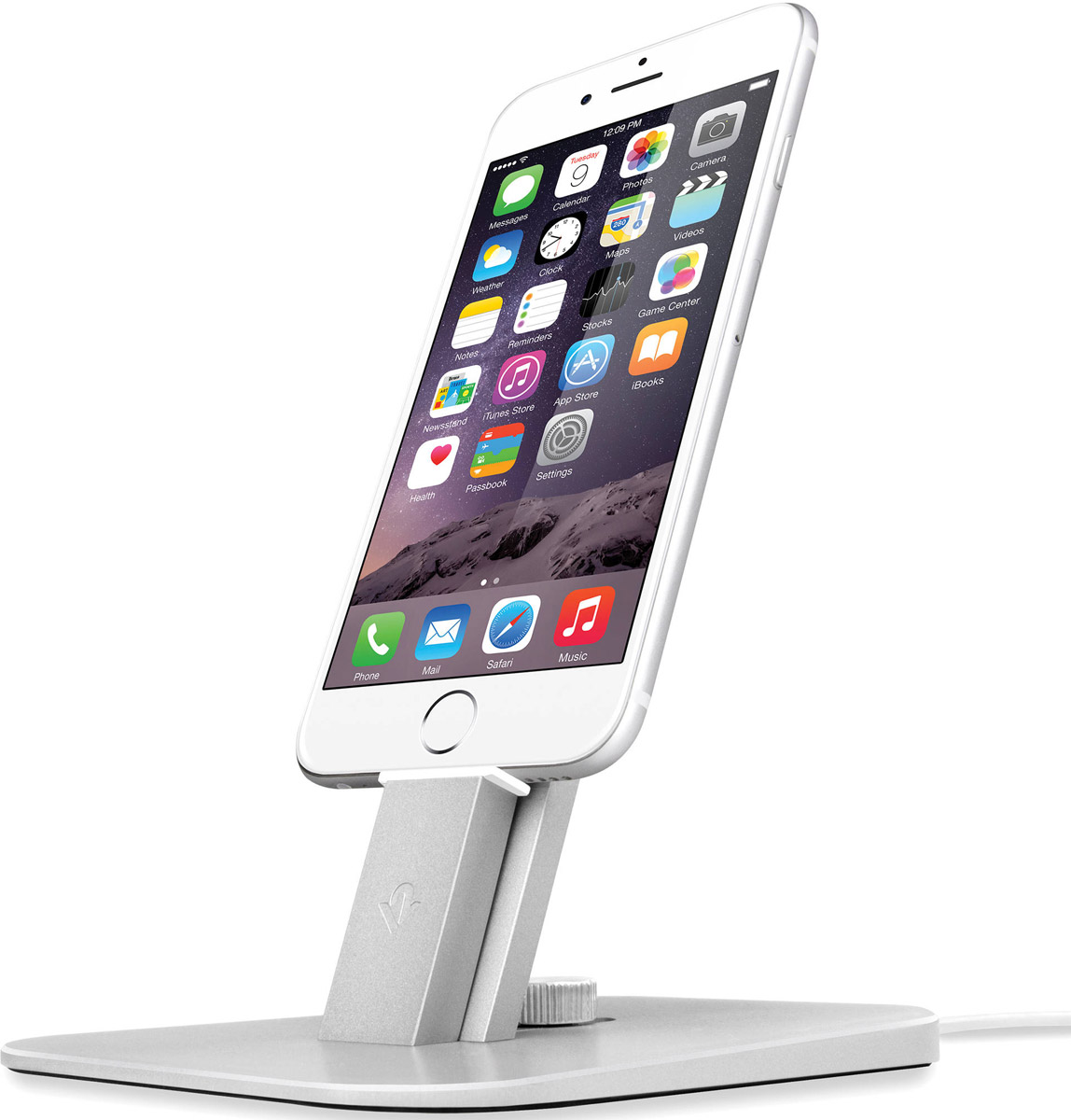 Twelve South HiRise Deluxe, Silver подставка для iPhone/iPad mini