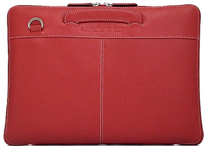 Urbano Leather Habdbag сумка для Apple Macbook 13, RedUZRB13-04