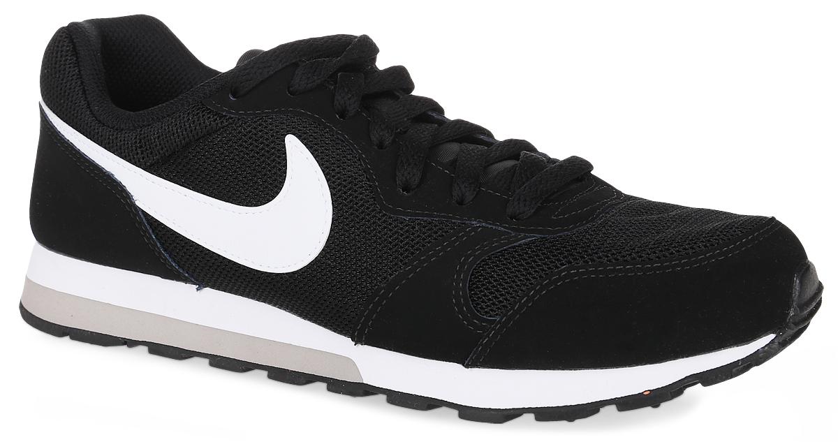 Кроссовки детские Nike Md Runner 2 (GS), цвет: черный, белый. 807316-001. Размер 6,5 (38,5) кроссовки nike кроссовки md runner 2