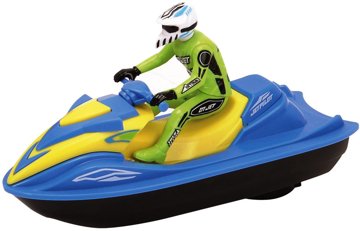 Dickie Toys Водный мотоцикл Sea Jet цвет голубой салатовый