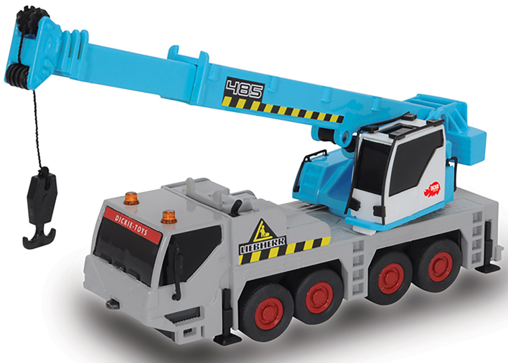 Dickie Toys Автокран Power Worker dickie toys игровой набор маяк
