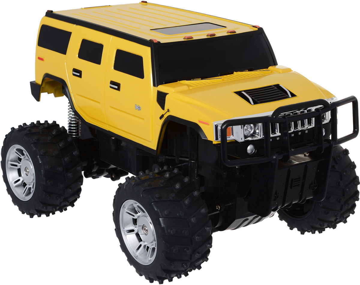 Rastar Радиоуправляемая модель Hummer H2 цвет желтый масштаб 1:14 rastar 28500 hummer h2