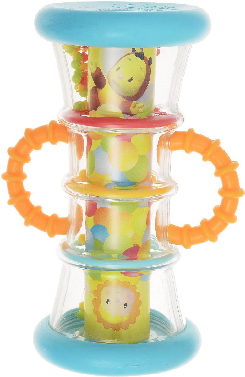 Smoby Погремушка-калейдоскоп цвет оранжевый smoby детская горка king size цвет красный