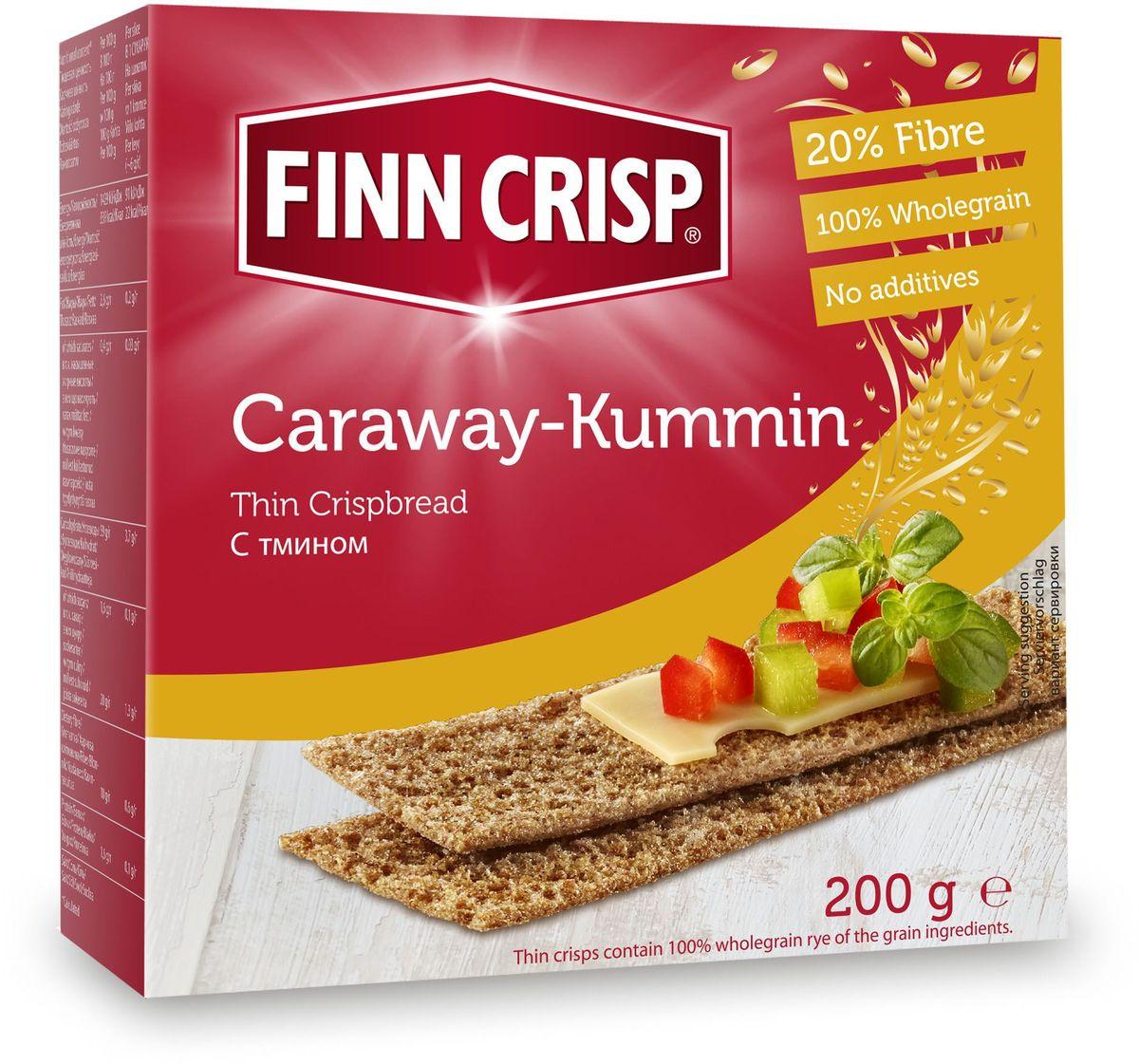 Finn Crisp Caraway хлебцы с тмином, 200 г20211В 1952 году началось производство сухариков FINN CRISP (ФИНН КРИСП), когда стартовали Олимпийские Игры в Хельсинки (Финляндия).Многие годы натуральные ржаные сухарики FINN CRISP отражают дух Финляндии для миллионов покупателей по всему миру, заботящихся о здоровом питании. Высушивать хлеб - давняя финская традиция и FINN CRISP до сих пор придерживаются этой традиции создавая хлебцы по старому классическому финскому рецепту.Бренд FINN CRISP принадлежит компании VAASAN Group's.VAASAN - это крупнейшая хлебопекарная компания в Балтийском регионе со столетней историей, занимающаяся производством продукции для правильного и здорового питания. Занимающая второе место по производству сухариков и хлебцев, а её продукция экспортируются в более чем 50 государств!