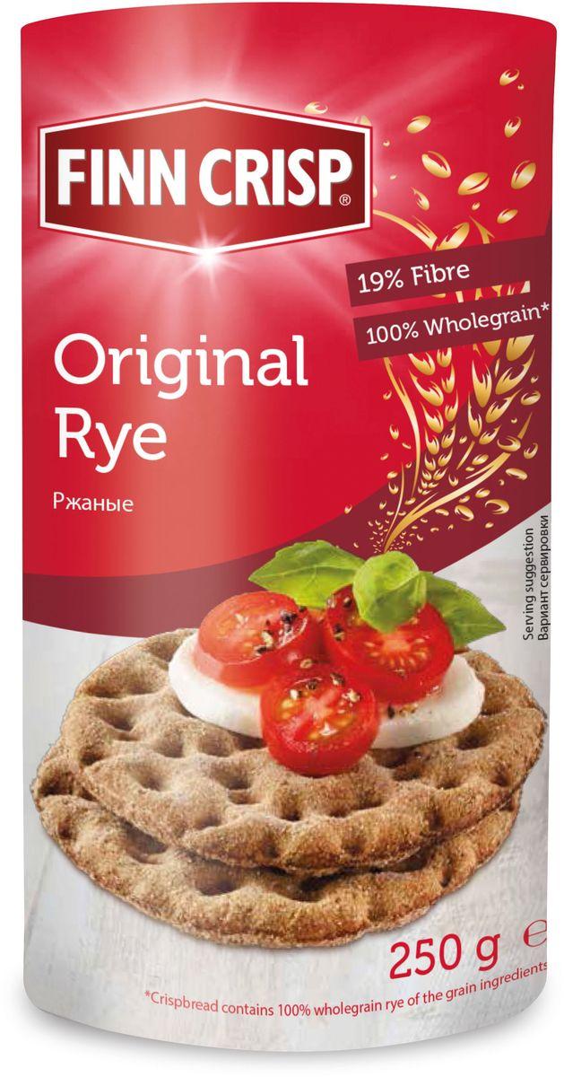 Finn Crisp Original Rye хлебцы ржаные, 250 г finn crisp traditional хлебцы традиционные 200 г