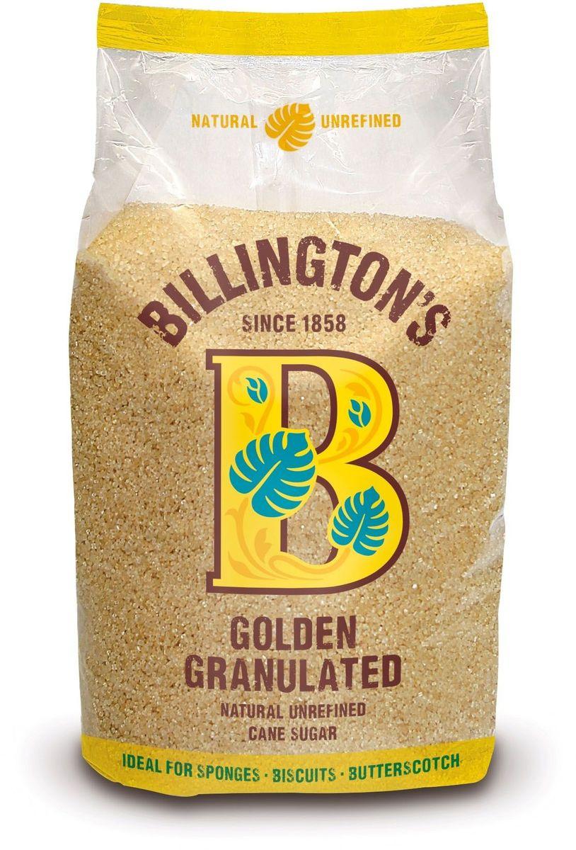Billingtons Golden Granulated сахар нерафинированный, 1 кг28113Высококачественный сахар Billington's производят из элитных сортов тростника, который подвергается минимальной технической обработке (не пропускают через костяные фильтры), что позволяет сохранить природные минералы, придающие продукту характерный вкус и запах. Нерафинированный коричневый тростниковый сахар содержит в своем составе кальций, железо, магний, фосфор, калий и даже протеины, которые полностью отсутствуют в обычном сахаре.