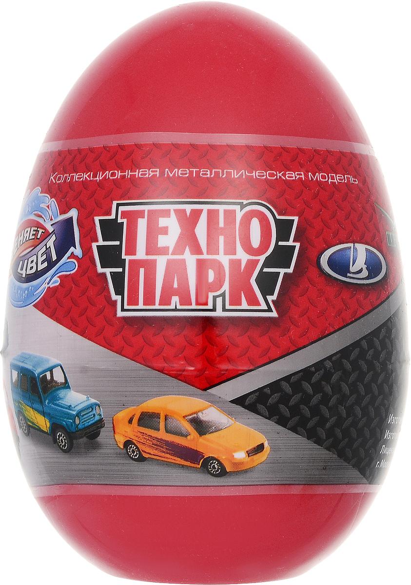 ТехноПарк Машинка УАЗ Лада цвет красный машинка технопарк уаз патриот полиция 1 50