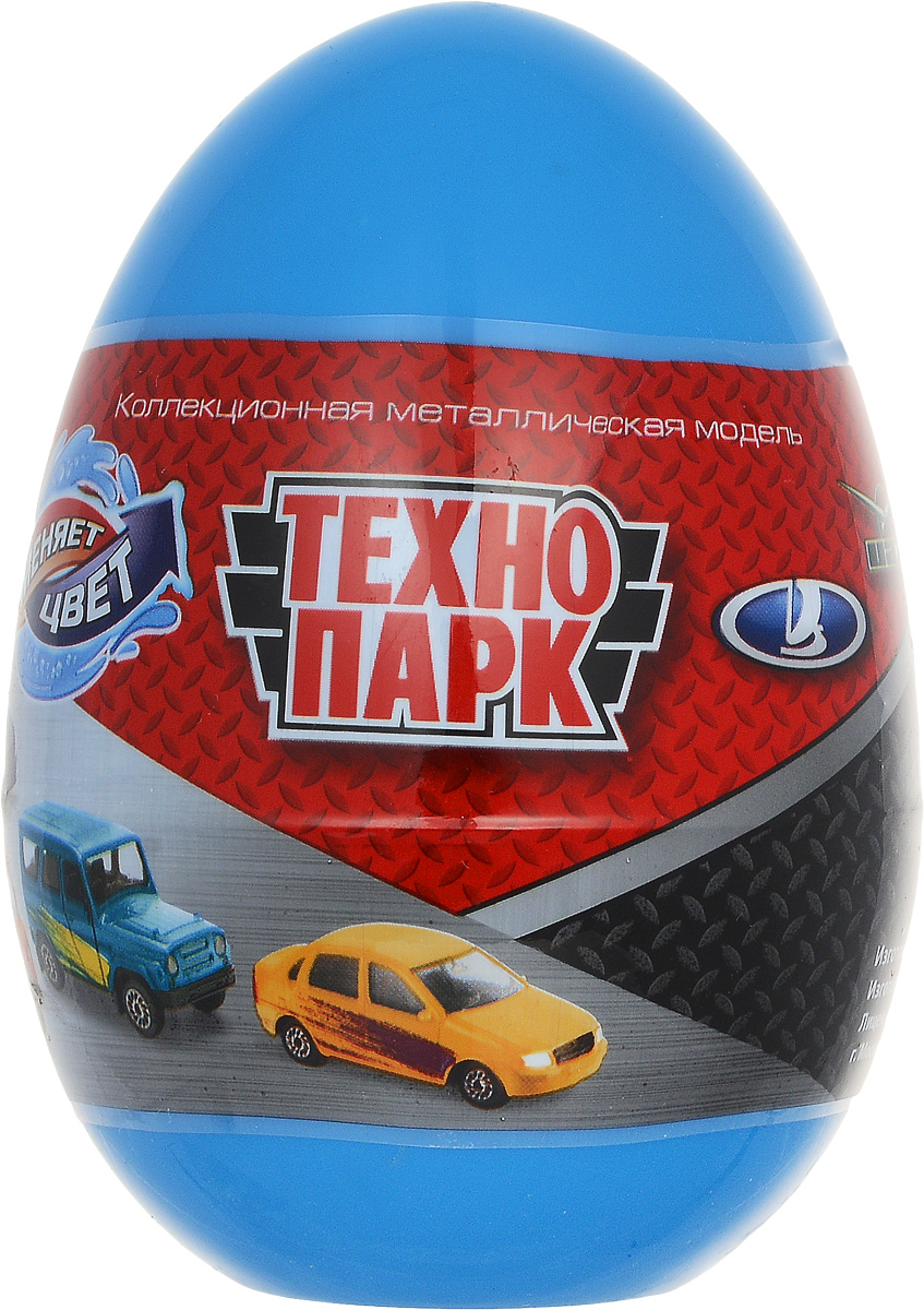 ТехноПарк Машинка УАЗ Лада цвет синий леди лада
