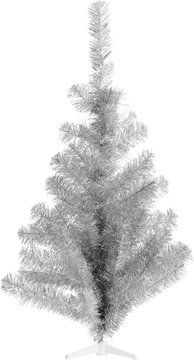 Ель искусственная Morozco Северное сияние, цвет: серебристый, высота 100 см710/0710Искусственная ель Северное сияние - прекрасный вариант для оформления вашего интерьера к Новому году. Такие деревья абсолютно безопасны, удобны в сборке и не занимают много места при хранении. Ель состоит из ствола с ветками и устойчивой подставки. Ель быстро и легко устанавливается и имеет естественный и абсолютно натуральный вид, отличающийся от своих прототипов разве что совершенством форм и мягкостью иголок. Еловые иголочки не осыпаются, не мнутся и не выцветают со временем. Полимерные материалы, из которых они изготовлены, не токсичны и не поддаются горению.Ель Morozco обязательно создаст настроение волшебства и уюта, а также станет прекрасным украшением дома на период новогодних праздников.